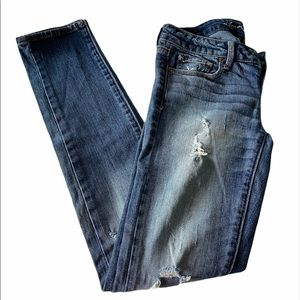 American Eagle | Distressed Stretch Skinny Jeans